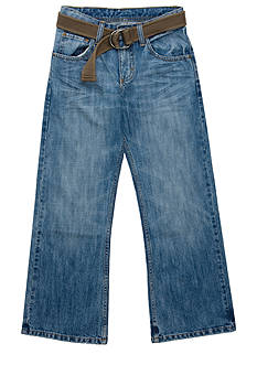 Lee Dungaree Husky Belted Relaxed Bootcut Jean - Boys 8-20