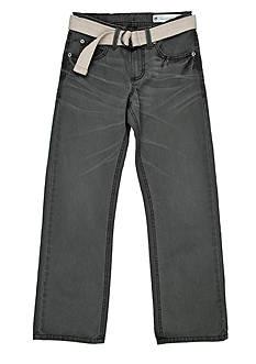Lee Belted Slim Straight Leg Jean Boys 8-20
