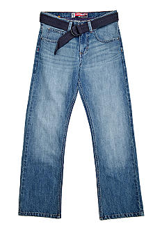 Lee Belted Straight Denim Boys 8-20