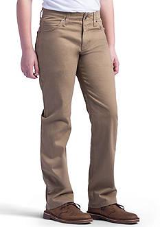 Lee X-Treme Comfort Straight Leg Khaki Boys 8-20