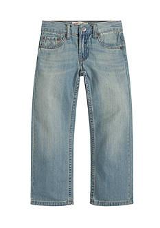Levi's 505 Regular Blue Jeans Husky Boys 8-20
