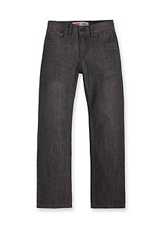 Levi's 514 Straight Blue Husky Jeans Boys 8-20