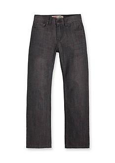 Levi's 514 Straight Blue Husky Jeans Boys 8-20