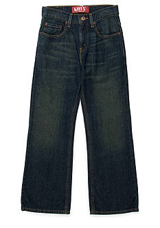 Levi's 527 Loose Boot Cut Denim Jeans Boys 8-20 Husky
