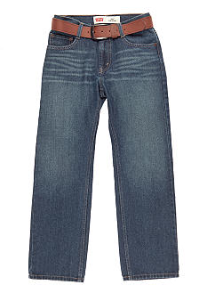 Levi's 505 Straight Leg Belted Denim Boys 8-20