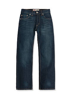 Levi's 505 Regular Blue Jeans For Boys 8-20