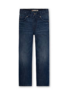 Levi's 514 Straight Blue Jeans Boys 8-20