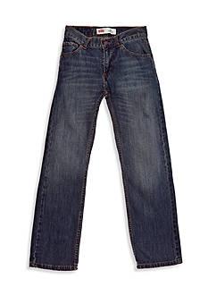 Levi's 505 Regular Blue Jeans Slim Boys 8-20