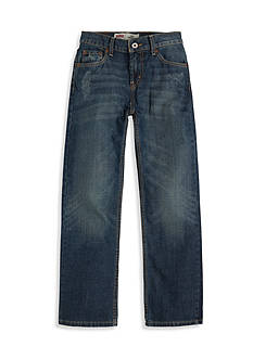 Levi's 514 Straight Blue Slim Jeans Boys 8-20