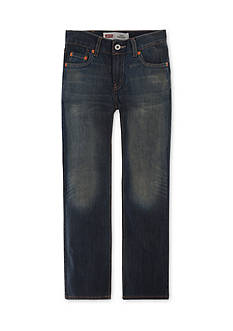 Levi's 514 Straight Blue Slim Jeans Boys 8-20