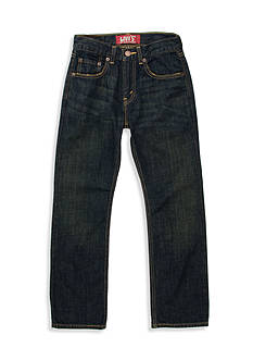 Levi's 527 Boot Cut Denim Blue Jeans Boys 8-20