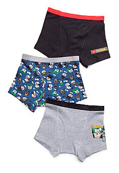 Handcraft 3 Pack Batman Boxer Brief Boys 4-7