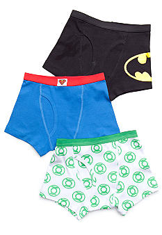 Handcraft 3 Pack Justice League Boxer Brief Boys 4-7