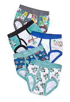 Handcraft 5 Pk Phineas and Ferb Underwear Boys 4-7