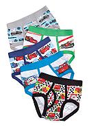 Handcraft 5 Pk Cars™ Underwear Brief  Boys 4-7
