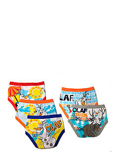 Disney 5-Pack Frozen Olaf Underwear Boys 4-7