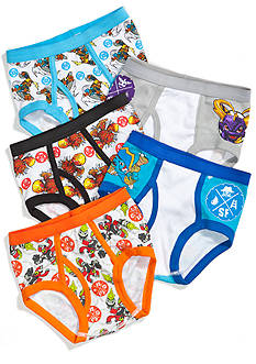 5-Pack Skylanders Swap Force Underwear Boys 4-7