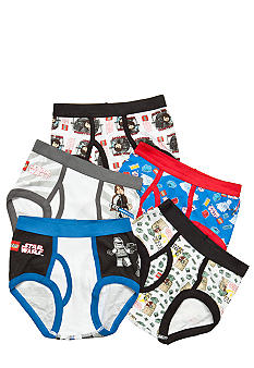 Handcraft 5 Pk Lego Star Wars Briefs Boys 4-7