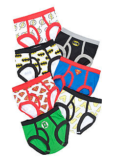 Handcraft 7 Pack Justice League Brief Toddler Boys