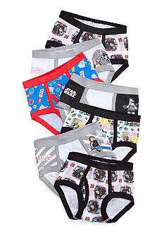 Handcraft 7 Pk Star Wars Underwear Boys 4-7