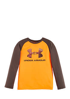 Under Armour Hunt Big Logo Raglan Tee Boys 4-7