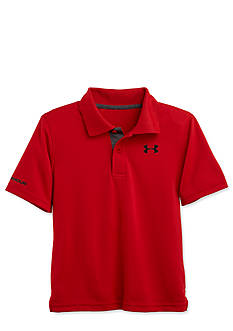 Under Armour Short Sleeve Solid Polo Boys 4-7