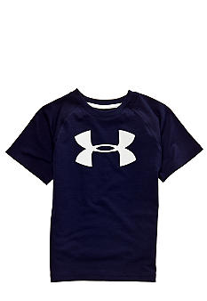 Under Armour Big Logo Tech Tee Boys 4-7