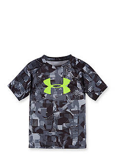 Under Armour Anaglyph Big Logo Tee Boys 4-7
