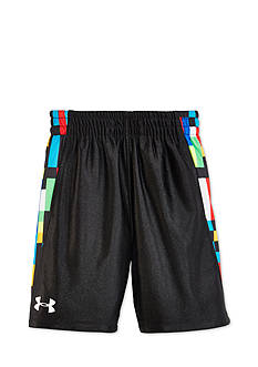 Under Armour Pixel Zoom Multi Reversible Shorts Boys 4-7