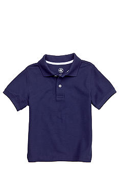 J Khaki Solid Basic Pique Polo Boys 4-7