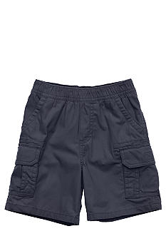 J Khaki Pull On Cargo Short Boys 4-7