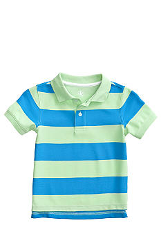 J Khaki™ Short Sleeved Stripe Polo Boys 4-7