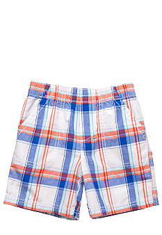J Khaki™ Plaid Pork Chop Short Boys 4-7