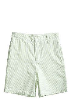 J Khaki Seersucker Short Boys 4-7
