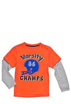 J Khaki Novelty Crew Tee Boys 4-7