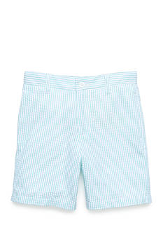 J Khaki™ Seersucker Shorts Boys 4-7