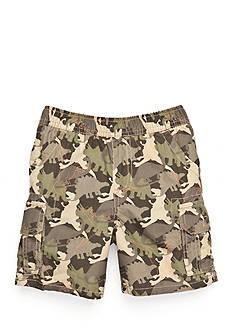 J Khaki™ Dinosaur Camo Cargo Shorts Boys 4-7