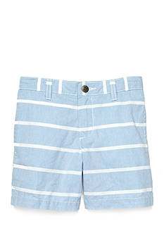 J Khaki™ Stripe Chambray Short Boys 4-7