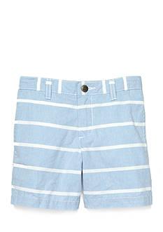 J Khaki™ Stripe Chambray Short Boys 4-7
