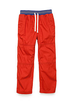 J. Khaki Canvas Pull-On Pants Boys 4-7