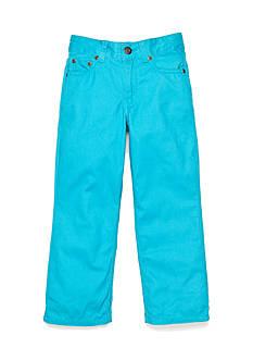 J Khaki™ Flat Front Twill Pants Boys 4-7