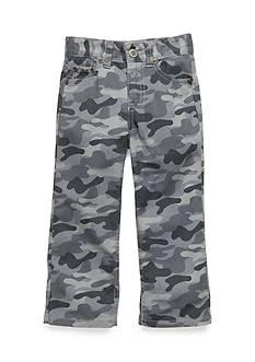 J Khaki™ Camo Flat Front Pants Boys 4-7