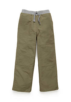 J. Khaki Unlined Microfiber Pants Boys 4-7