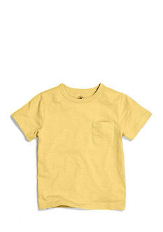 J Khaki™ Solid Slub Tee with Pocket Boys 4-7