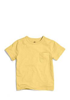 J Khaki™ Solid Slub Tee with Pocket Boys 4-7