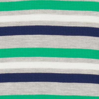 Little Boys T-shirts: Green/Gray J Khaki™ Long Sleeve Striped Thermal Shirt Boys 4-7