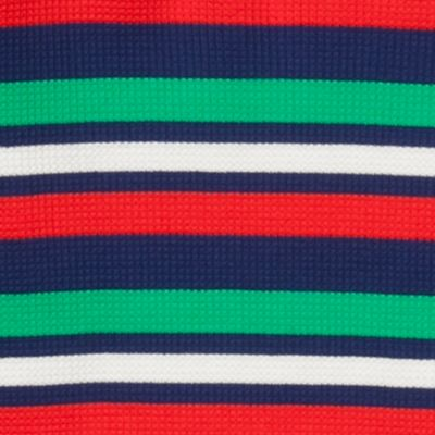 Little Boys T-shirts: Blue/Green/White J Khaki™ Long Sleeve Striped Thermal Shirt Boys 4-7