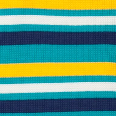 Little Boys T-shirts: Turquoise/Yellow J Khaki™ Long Sleeve Striped Thermal Shirt Boys 4-7