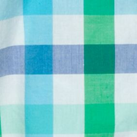 Baby & Kids: Button Front Sale: Aqua/Blue J Khaki™ Long Sleeve Woven Plaid Shirts Boys 4-7