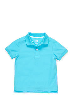 J Khaki™ Short Sleeve Solid Polo Boys 4-7